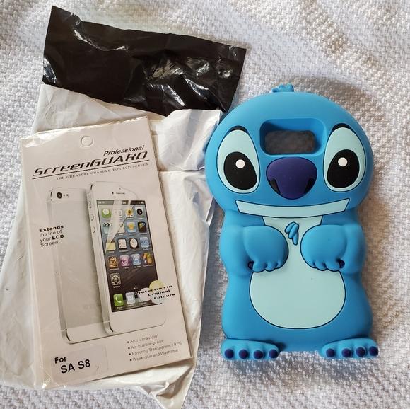 Samsung galaxy S8 case, Stitch